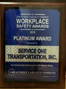 Workplace safety awards