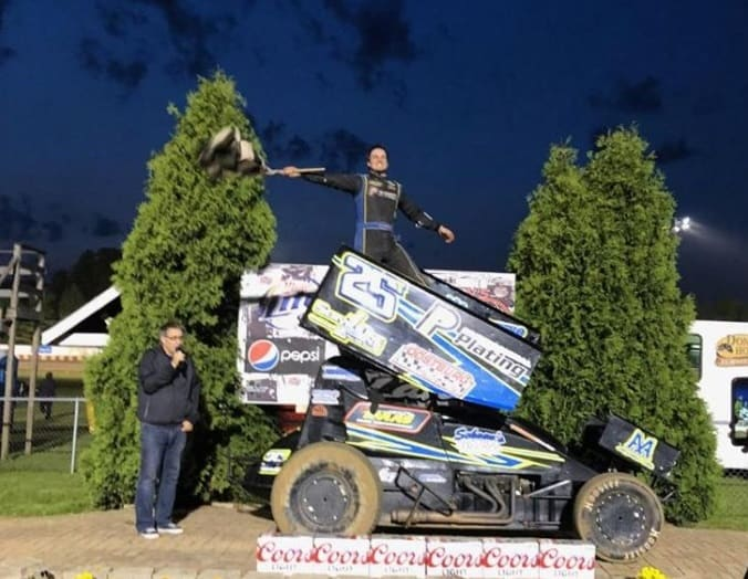 Service One mechanic and Midwest Sprint Car Association 2018 Rookie of the Year