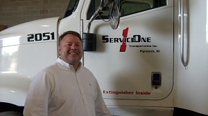 Dan Flagstad: Jr. President of Service One Transportation, Inc